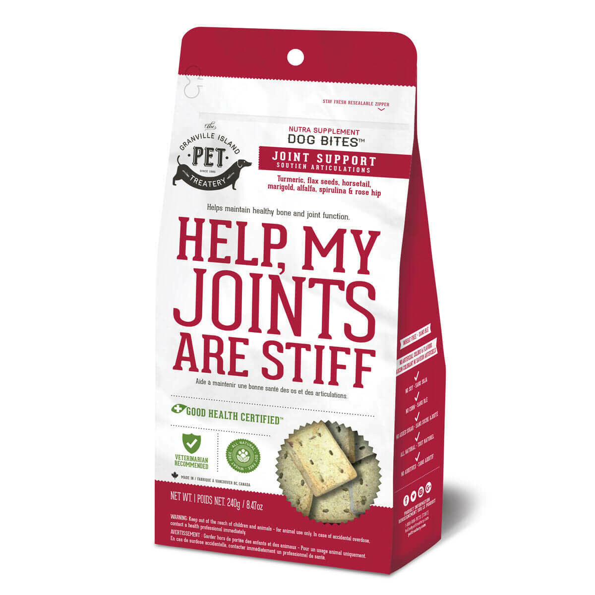 Help, My Joints Are Stiff - Granville Pet Treatery