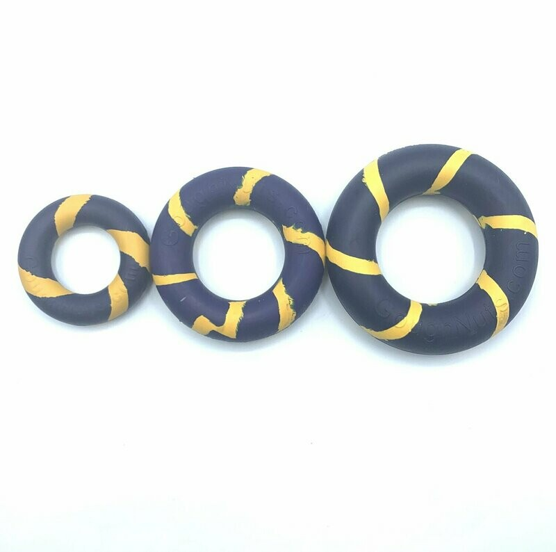 GoughNut Lite Ring - Blue/Yellow