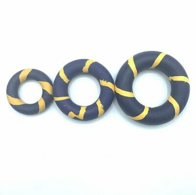 GoughNut Lite Ring - Blue/Yellow