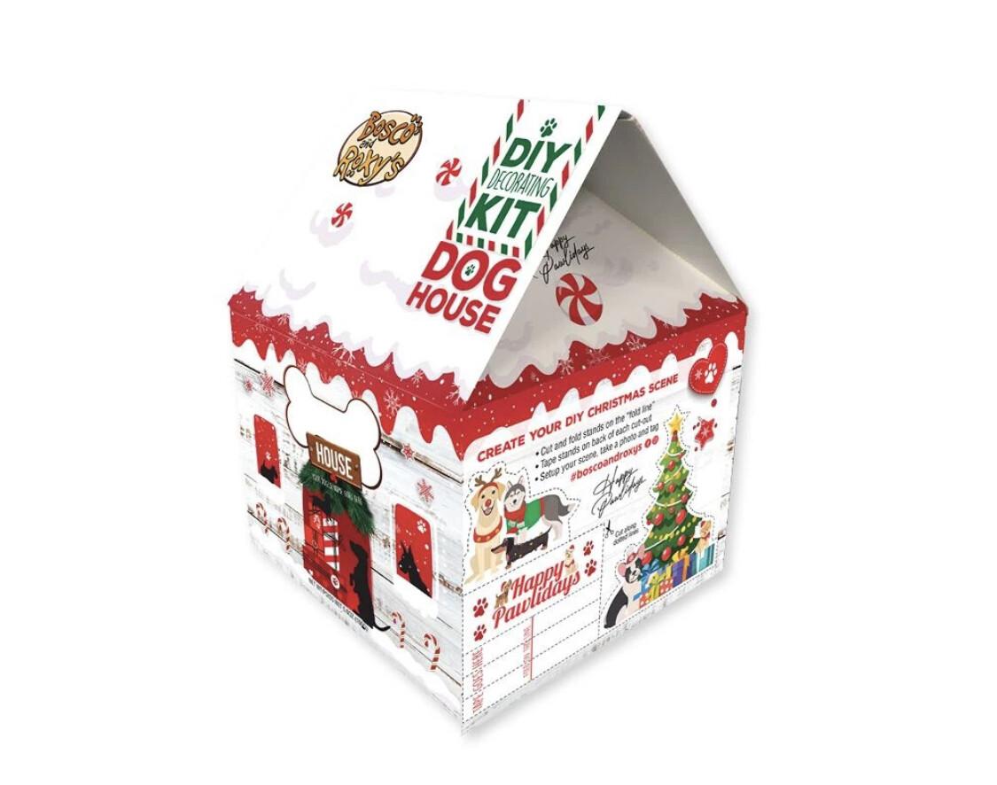 DIY Gingerbread Dog House Kit