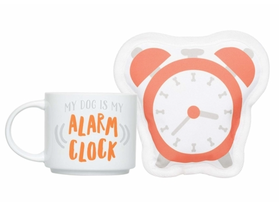 My Dog is My Alarm Clock Gift Set