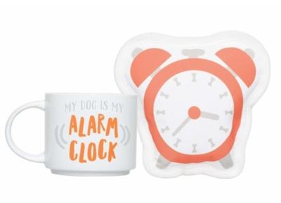 My Dog is My Alarm Clock Gift Set
