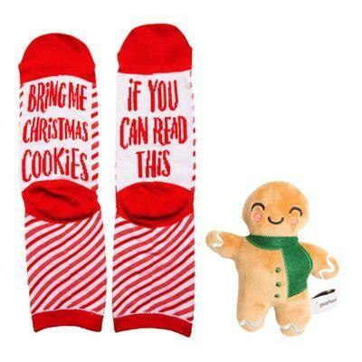 Sock & Ginger Bread Man Toy - Gift Set