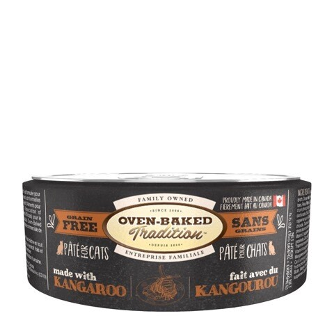 Kangaroo Pate Cat Food - Oven Baked Tradition