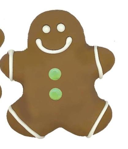 Mr Gingerbread Man Cookie