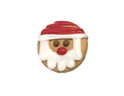 Mini Santa Cookie