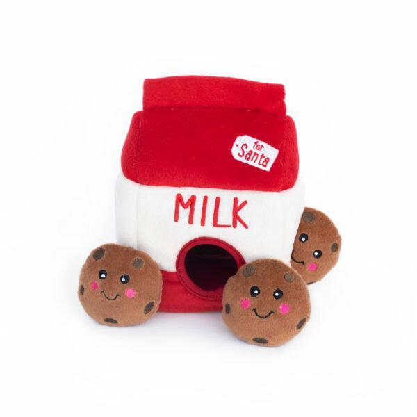 Santa's Milk & Cookies - Hide & Seek Toy
