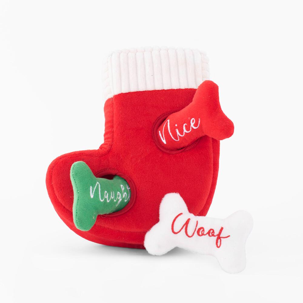 Naughty or Nice Stocking - Hide & Seek Toy