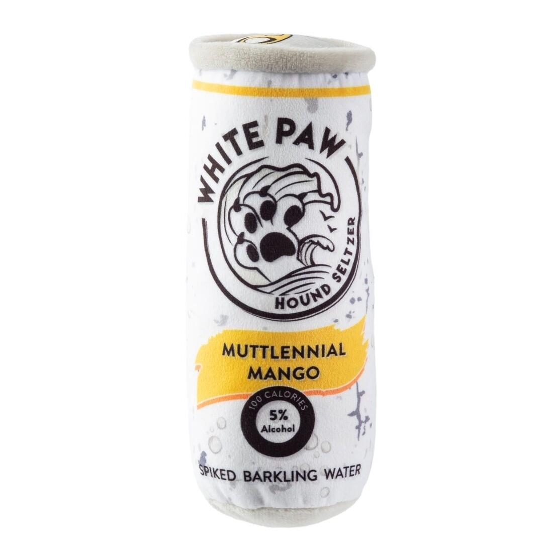 White Paw Hound Seltzer - Muttlennial Mango