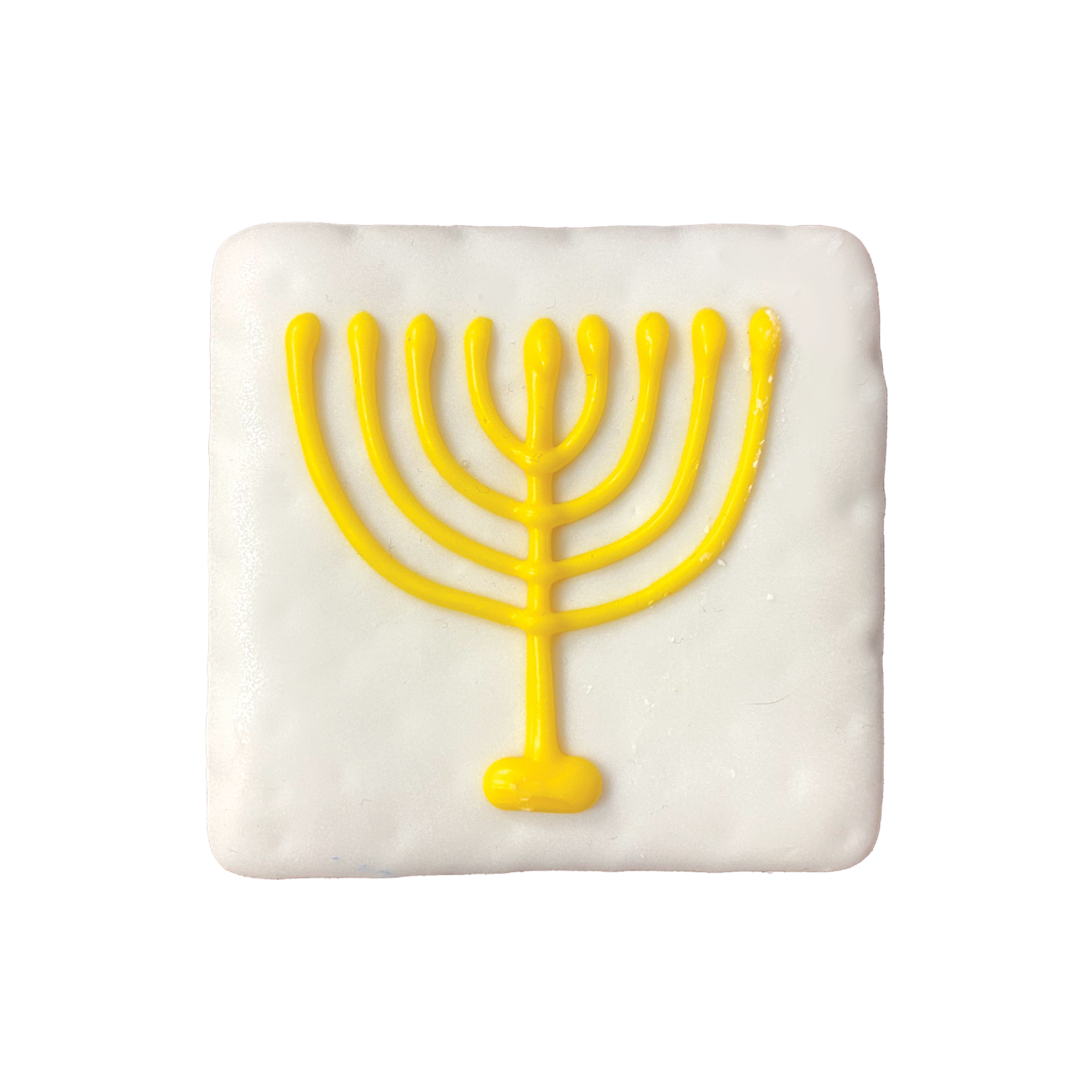 Menorah Cookie