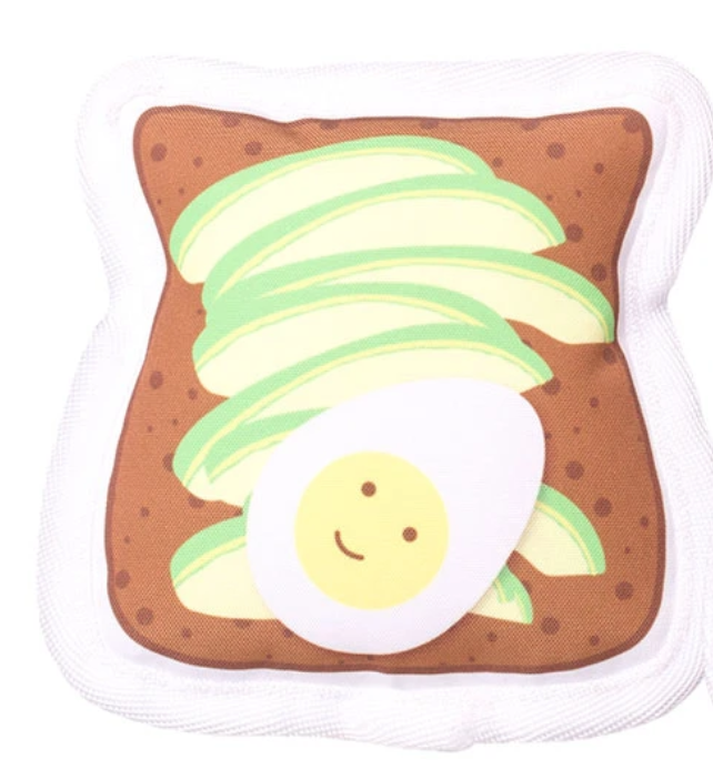 Canvas Avocado Toast Toy