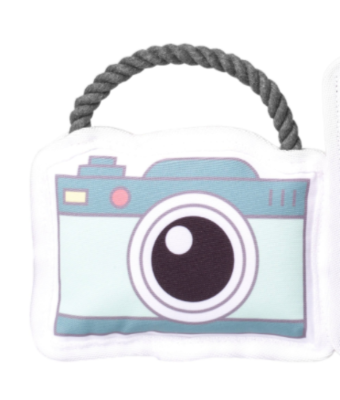 Canvas Camera Rope Toy
