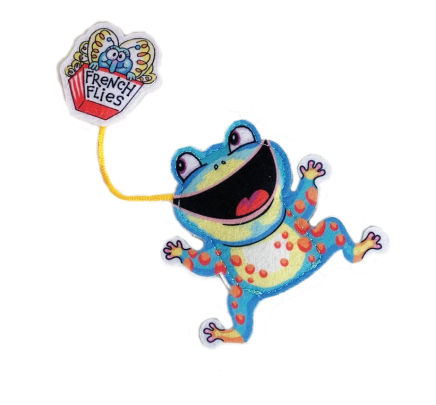 French Flies Frog Toy