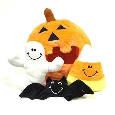 Pumpkin & Candy Corn Hide & Seek Toy