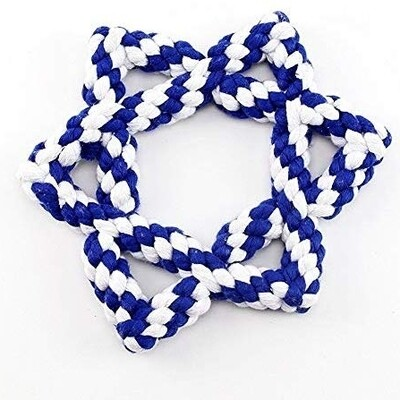 Star of David Rope Toy