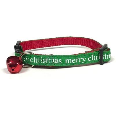 Merry X-Mas Cat Collar