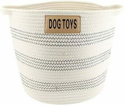 Cotton Rope Toy Bin