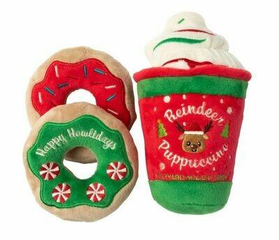 Reindeer Puppicino & Donuts
