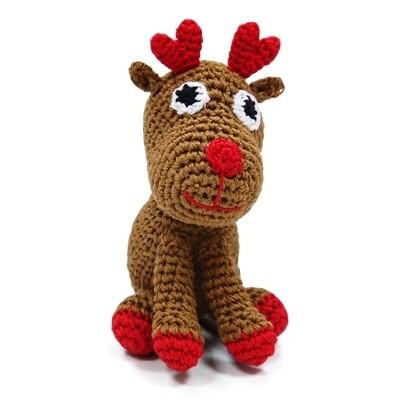 Organic Crochet Reindeer Toy