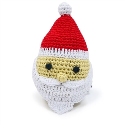 Organic Crochet Santa