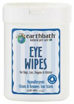 Fragrance Free Eye Wipes EarthBath