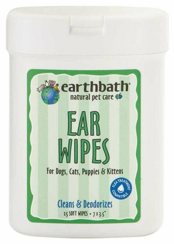 Fragrance Free Ear Wipes - EarthBath