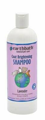 Coat Brightening Shampoo Lavender - EarthBath