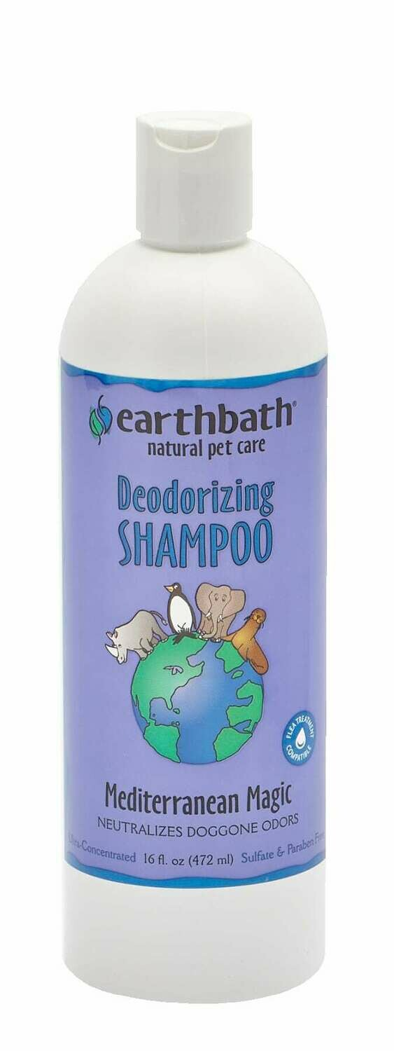 Deodorizing Shampoo Mediterranean Magic - EarthBath