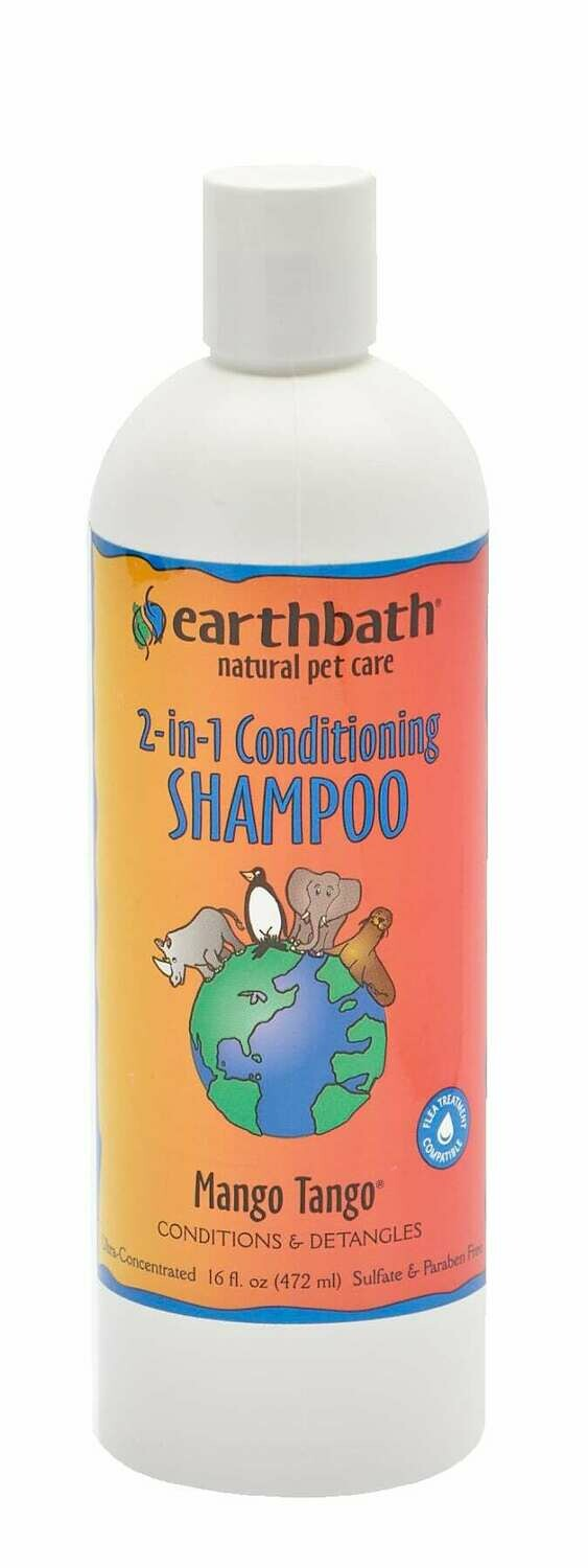 2 in 1 Conditioning Shampoo Mango Tango - EarthBath