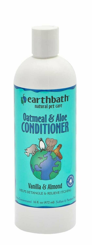 Oatmeal & Aloe Conditioner Vanilla Almond - EarthBath