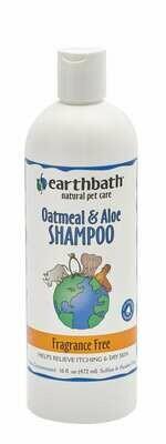 Oatmeal & Aloe Shampoo Fragrance Free - EarthBath