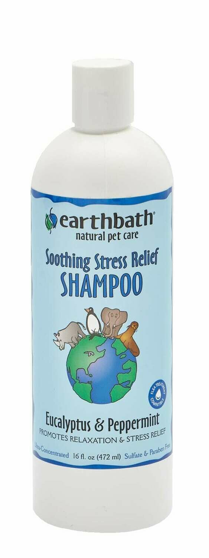 Soothing Stress Relief Shampoo Eucalyptus & Peppermint - EarthBath
