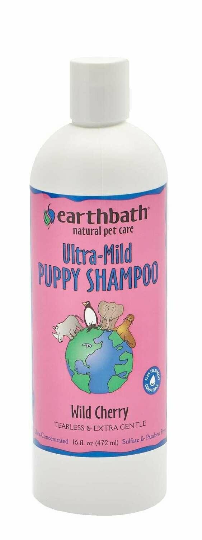 Ultra Mild Puppy Shampoo Wild Cherry - EarthBath