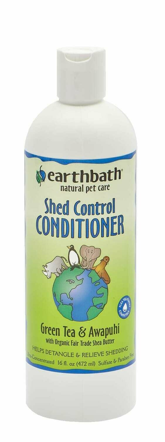 Shed Control Conditioner Green Tea & Awapuhi - EarthBath