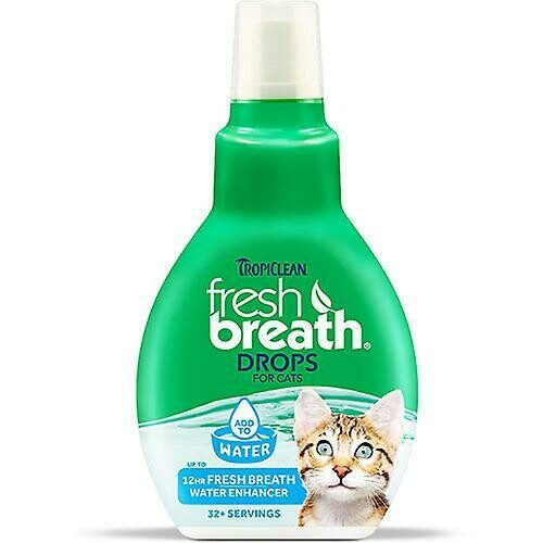 Fresh Breath Drops Cat - TropiClean