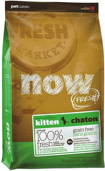 Grain Free Kitten Food - NOW Fresh