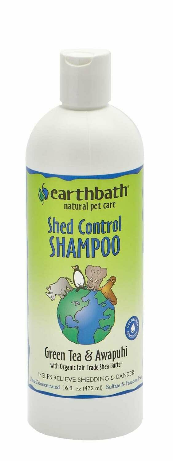 Shed Control Shampoo Green Tea & Awapuhi - EarthBath