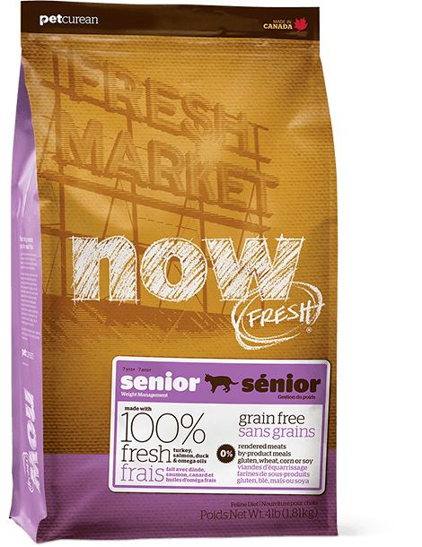 Grain Free Senior Cat Food - NOW Fresh