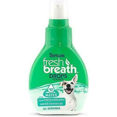 Fresh Breath Drops Dog - TropiClean