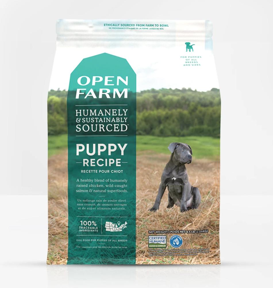 Puppy Recipe Dog Food - Open Farm