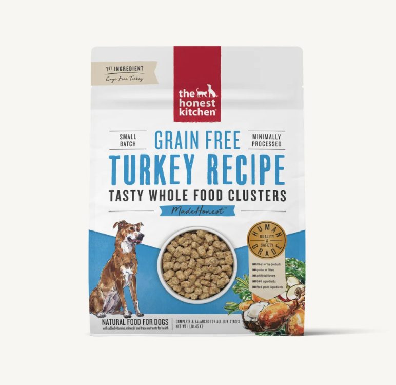 Turkey Grain Free Clusters - The Honest Kitchen