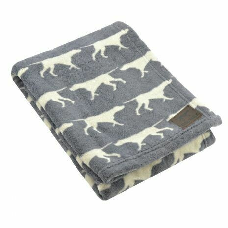 Grey Icon Blanket - Tall Tails