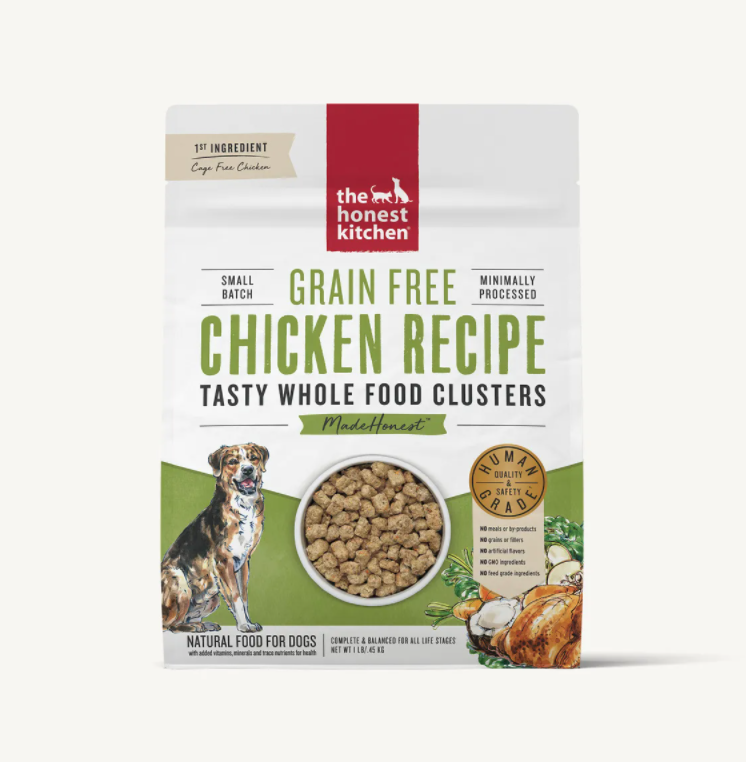 Chicken Grain Free Clusters - The Honest Kitchen