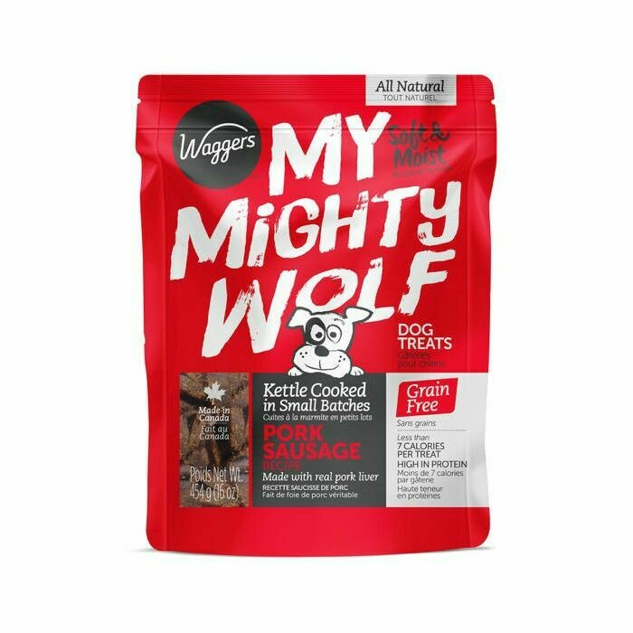 My Mighty Wolf Pork Sausage - Waggers