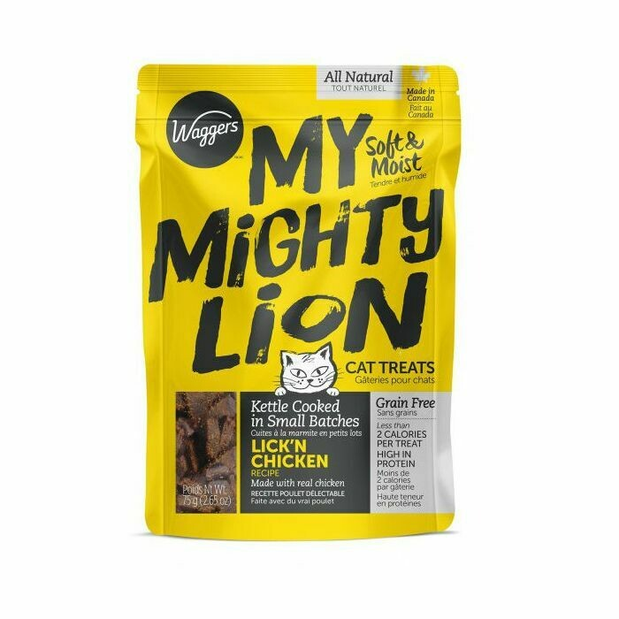 My Mighty Lion Lick'n Chicken - Waggers