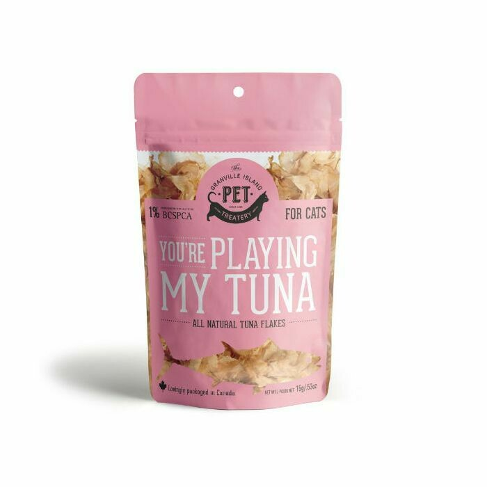 You're playing my Tuna - Granville Pet Treatery