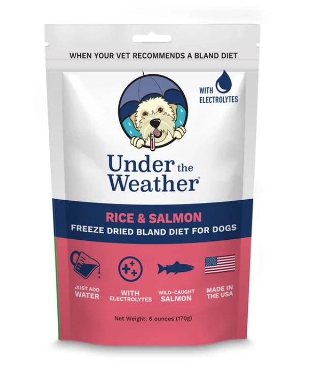 Under The Weather Bland Diet - Salmon & Rice