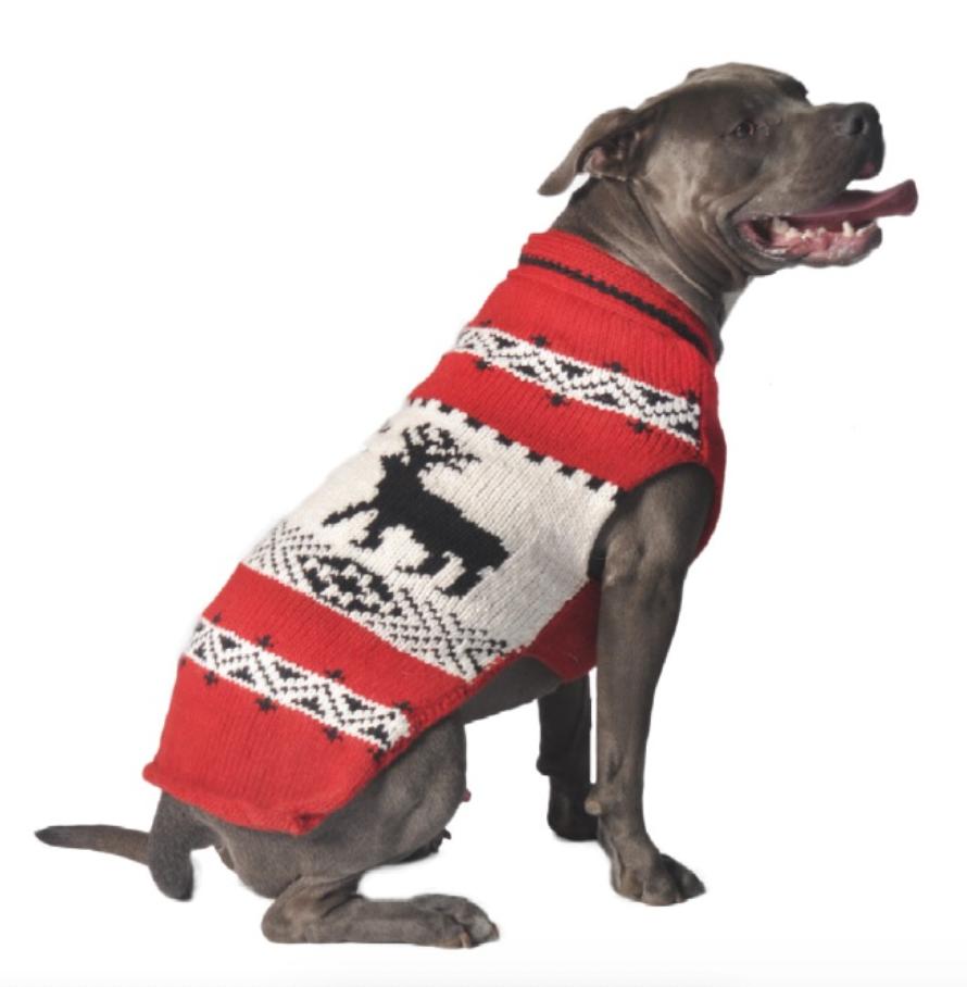 Nordic Reindeer Winter Sweater