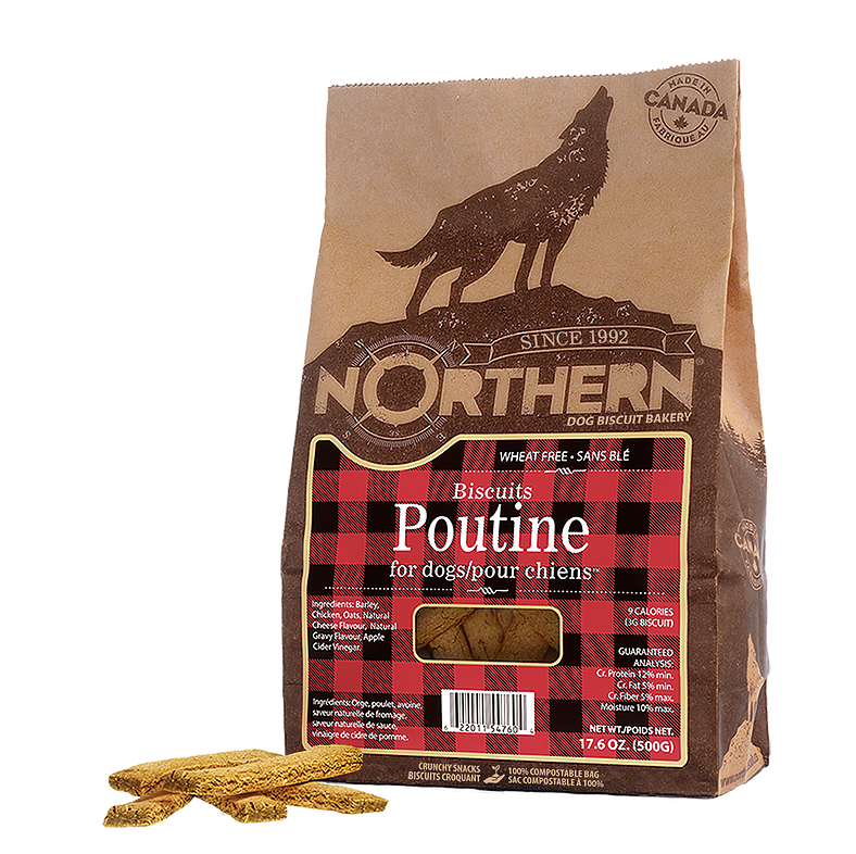 Poutine Biscuits - Northern Pet