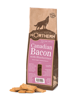 Canadian Bacon Biscuits - Northern Pet